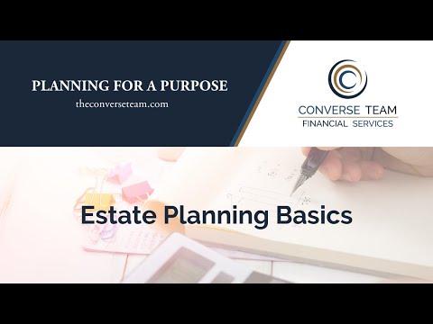 Estate Planning Basics - Webinar