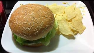 Veggie Burger Mcdonalds India Style At Home