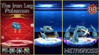 Pokeland Legends : Beldum | Metang | Metagross | The Iron Leg Pokemon |Monster Myst