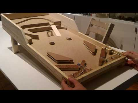 how to build a virtual pinball machine