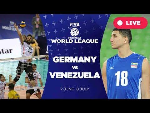 Germany v Venezuela - Group 3: 2017 FIVB Volleyball World League