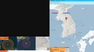 [지진관측 진도0] 도라시마 섬 해역서 규모4.5 깊이…