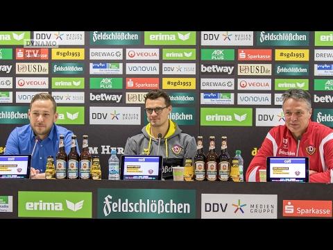 20. Spieltag   FCSP - SGD   Pressekonferenz vor dem Spiel