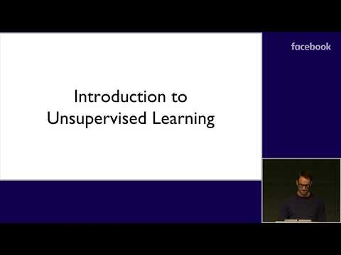 Unsupervised Deep Learning - Google DeepMind & Facebook Artificial Intelligence NeurIPS 2018