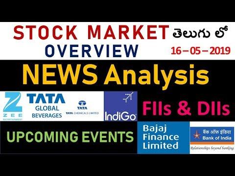 #26 Stock Market NEWS Analysis(Telugu) | ZEEL | INDIGO | BOI | BAJAJ FIN | TATA