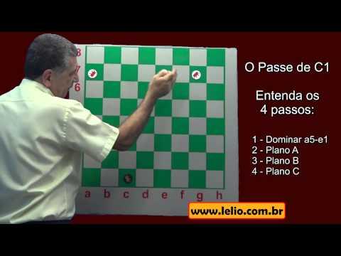 Como fazer o passe de c1 no jogo de damas