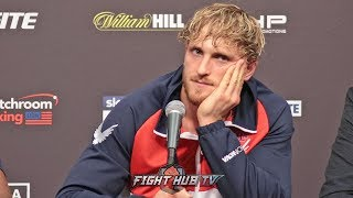 A Gutted Logan Paul Talks Loss To Ksi   Full Ksi Vs Logan Paul 2 Post Fight Press Conference