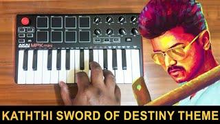 Kaththi - The Sword Of Destiny | Mass Bgm Ringtone | Cover By Raj Bharath
