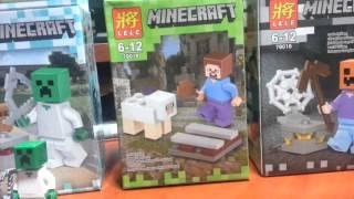 """Обзор на конструкторы Minecraft фирмы """"LELE"""" (Аналог Лего)"""