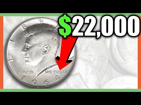1964 KENNEDY SILVER HALF DOLLARS WORTH MONEY!! VALUABLE ERROR COINS TO LOOK FOR!!