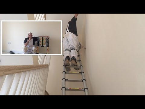 38m Telescopic Ladder Youtube