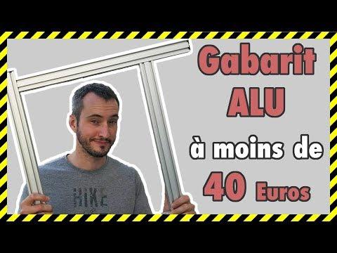 COMMENT FAIRE UN GABARIT DE DÉFONCEUSE EN ALUMINIUM A MOINS DE 40 EUROS  (TYPE B)/ FESTOOl MFS DIY