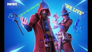 FORTNITE *NEW* CASTOR SKIN (LIVE STREAM) WE PLAYING WITH SUBSCRIBERS!!! [DIRE WOLF GRIND]