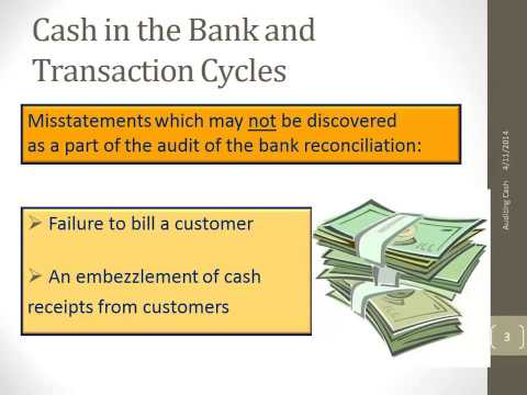 Cash in the Bank & Transaction Cycles