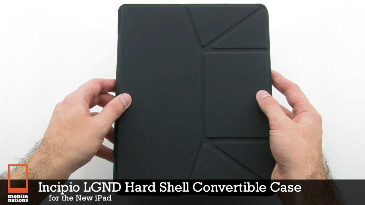 online store 8e345 564cd Incipio LGND Hard Shell Convertible Case for The new iPad
