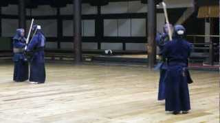 9th Dan - Sensei Inoue. Kendo. Kyoto Butokuden