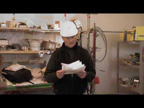 Gathering Paradise: Bill Murray Reads to Construction Workers at Poets House.mov