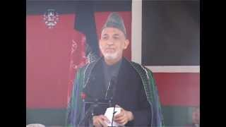 TV Report -- President Karzai