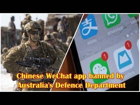 Australian Military Bans Chinese WeChat App