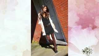 Какие колготки одеть под черное платье / What tights to wear under a black dress