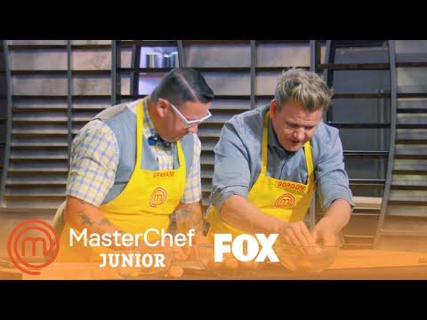 Gordon And Graham Battle Against The Chefs  Season 4 Ep. 8  MASTERCHEF JUNIOR