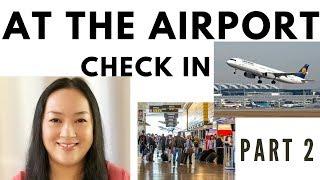 坐飞机出国旅行英语Part 2: 安检/海关/取行李 | 机场过海关英文|机场英语口语|开心生活学英语