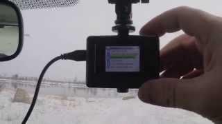 Китайская экшн камера как видеорегистратор в автомобиле(, 2015-03-14T12:15:42.000Z)