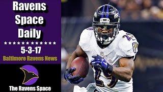 Justin Forsett Retires - Ravens Space Daily 5-3-17