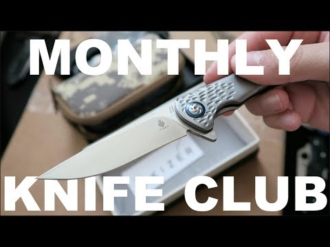 UNBOXING: EDC Knives & Survival Kit | Monthly Knife Club