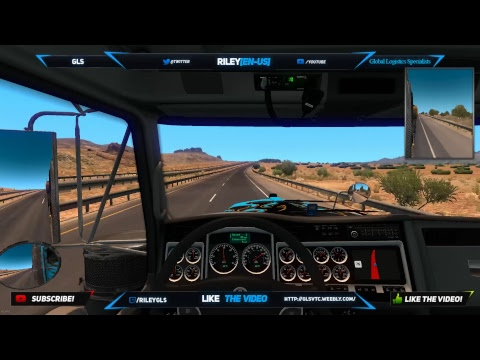 ATS Convoy Night w/ GLS Road to 100 Subscribers