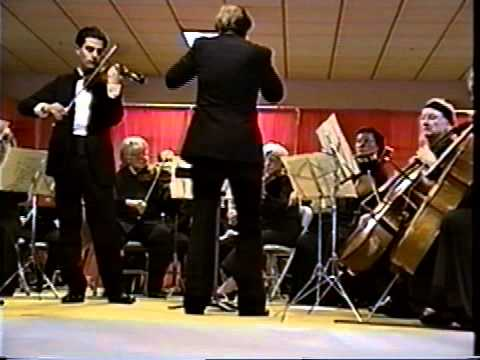 Paul Festa plays the Mendelssohn Violin Concerto with Symphony of the Redwoods