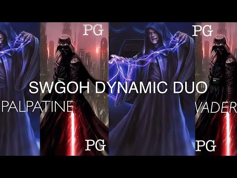 VADER & PALPATINE SWGOH DYNAMIC DUO