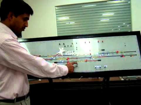 Rail Signalling Working Model - XV