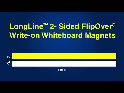 longline™-2--sided-flipover®-write-on-whiteboard-magnets`