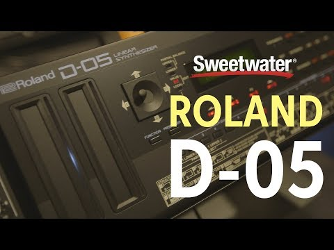 Roland D-05 Synthesizer Demo at Knobcon 2017