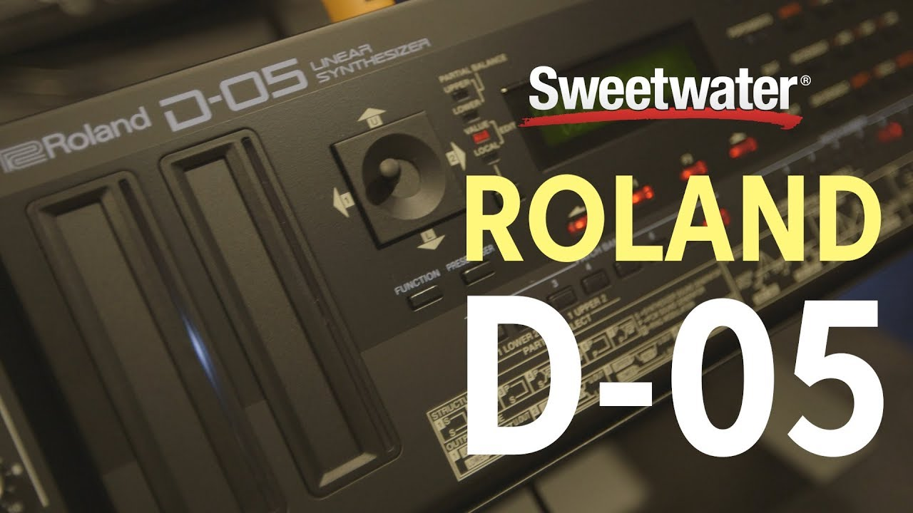Roland D-05 Linear Synthesizer | Sweetwater