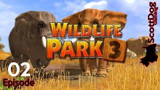 WILDLIFE PARK 3 Lets Play Ep 2 VIP ScottDogGaming