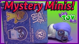 Disney * Pixar Inside Out Funko Mystery Minis Unboxing by Bins Toy Bin!