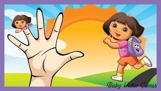 Dora the Explorer Kids Song Surprise Eggs Finger Family Nursery Rhyme Daddy Finger Kinder