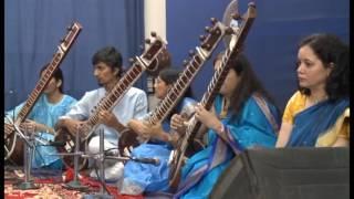 Laga chunari mein Daag along with a composition in raag Bhairavi on Sitar.