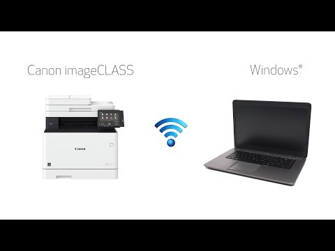 ImageCLASS Wireless Video For Windows (MF735Cdw, MF733Cdw, MF731Cdw, MF634Cdw, MF632Cdw, LBP654Cdw)