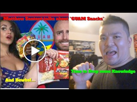 RE: Tasting CRAZY Food from Guam!