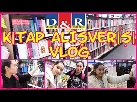 D&R MAĞAZASINDA ALIŞVERİŞ YAPIYORUZ ( Kitap Alışverişi Vlog 2019 )