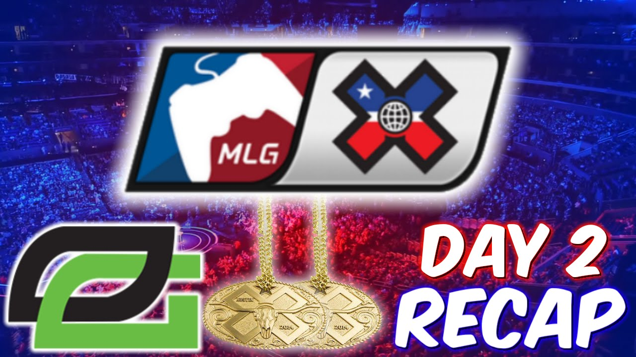 OpTic Gaming Wins 2 Gold Medals? Call of Duty MLG X GAMES ...