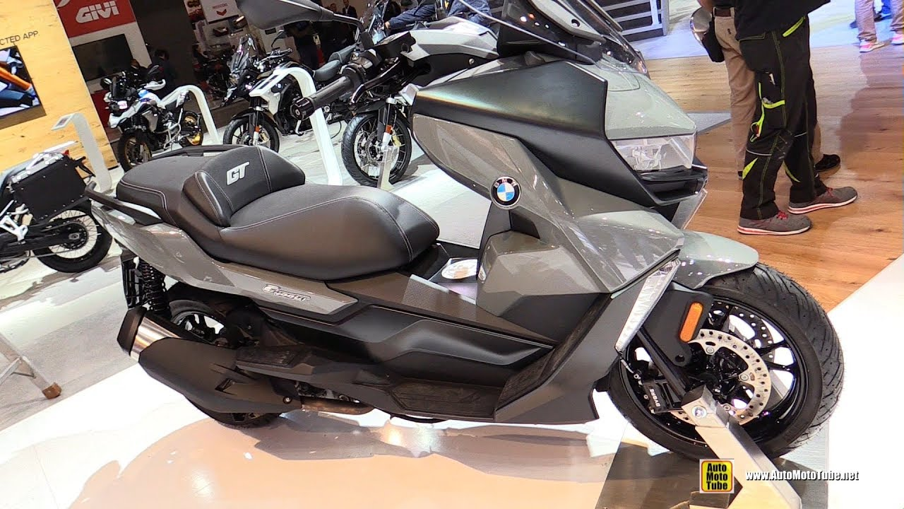 2019 Bmw C400 Gt Scooter Walkaround Debut At 2018 Eicma Milan