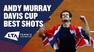 Best Andy Murray Davis Cup hot shots