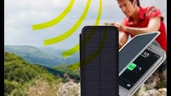Never plug in chargers to charge phones again! Solar case review