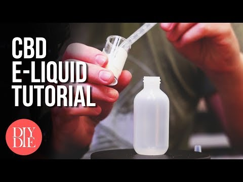 How to Make CBD E-liquid (Safe & 100% Legal)