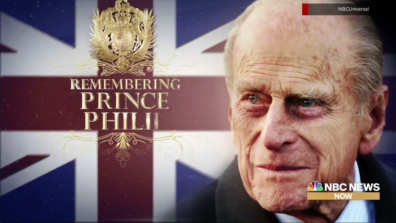 NBC News Prince Philip funeral coverage open