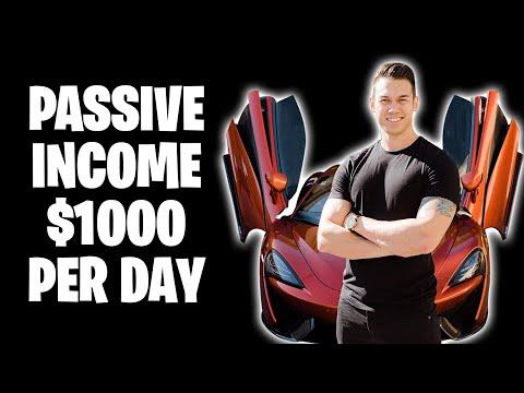 Ryan Hildreth - How To Make Passive Income ($1000 Per Day)